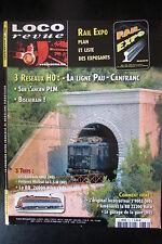MODELISME FERROVIAIRE TRAIN MAGAZINE LOCO REVUE N° 736 de 2008