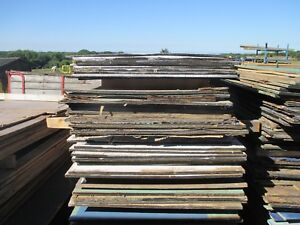 PLYWOOD 18MM 8 X 4 SHEETS USED .COLLECTION ONLY************