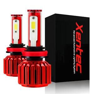 Xentec 120W 12800lm LED Lights White Headlight / Fog Light Kit 9005 HB3 6000K