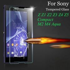 Genuine Tempered Glass Screen Film Protector For SONY XPERIA L1 L2 L3 XA2 XZ M5