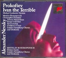 Prokofiev Ivan The Terrible Alexandre Nevsky (2 CD Set) NEW Free Ship Lankester