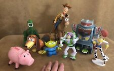 Large Toy Story Disney Pixar action figure lot sparks slinky hamm bullseye alien