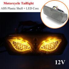 Universal 12V Brake Rear Tail Light LED License Plate Cornering Fit For MSX125