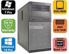 Dell Optiplex 790 MT, Core i5/i7, SSD/HDD, 4/8/16GB, Windows 7/10 pro, Warranty
