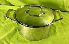 Tramontina 18/10 Stainless Stockpot with Lid Heavy Duty