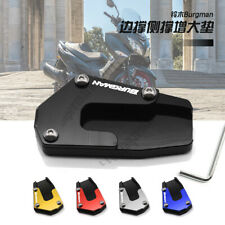 Kickstand Side Stand Pad Extension Support Plate Fit For Suzuki Burgman AN 650