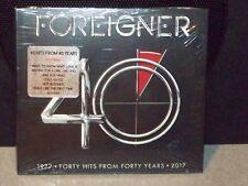 """Foreigner """"40"""" U.S. 2 Cd Set Sealed"""
