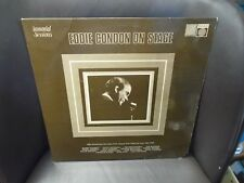 Eddie Condon On Stage LP Saga UK pressing VG+ [Billie Holiday Louis Armstrong]