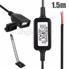 Motorcycle Mobile Phone GPS Waterproof USB Power Supply Port Socket Charger 2A