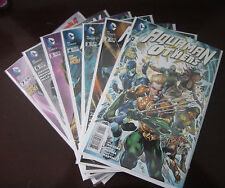 Aquaman and the Others (2014) Set#1-7, Vf