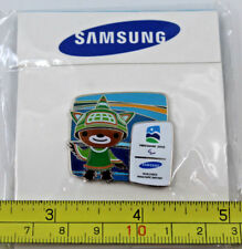 2010 Samsung Sumi Mascot Vancouver Winter Olympics Collectible Pin