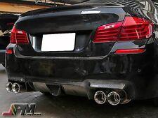 DP Style Carbon Fiber Rear Bumper Lip Diffuser 12-15 BMW F10 5 Series M5 Only