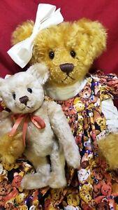 """Donna Bobby """"Theodora's Teddie"""" artist teddy bear mohair LE #6/20 17"""""""