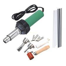 1500w Hot Air Plastic Welding Gun Welder Pistol + Speed Nozzle + Roller Kit