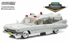GREENLIGHT 1:18 PRECISION COLLECTION 1959 CADILLAC AMBULANCE DIECAST CAR PC-1800