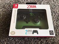 PowerA  Enhanced Wired Controller Nintendo Legend of Zelda - Link Fade