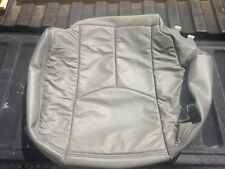2003 -2006 Chevy GMC Tahoe RH Bottom Seat Cover **Med Dk Pewter**REAL GM LEATHER