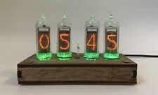 Nixie tube clock with IN-14 tubes DIFFERENT CASES AUTO TEMPERATURE CALENDAR