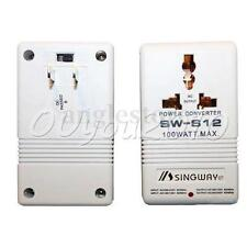 Xingwei S12 AC 110V to 220V 100W Step Up&Down Dual Voltage Converter Transformer