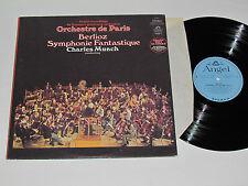 BERLIOZ Symphonie Fantastique LP Angel Stereo S-36517 Charles Munch Paris VG+