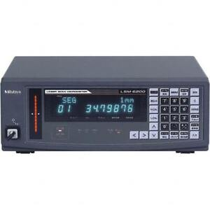 Mitutoyo LSM-6200 Laser Scan Micrometer Display Unit 544-072A
