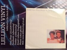 "George Michael & Aretha Franklin I Knew You Were Waiting 12"" Single 80's Pop"