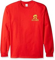 Maryland Terrapins Long Sleeve LS T-Shirt~RED~Men's Sizes~Pride~NCAA~Ships FREE