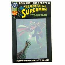 DC Adventures of Superman #500 1993 1st Appearance Eradicator No Poly Bag VF/NM