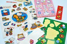Vintage Sticker Lot*Sanrio Hello Kitty*Puffy Mouse Keroppi Sweet Shop*1980's +