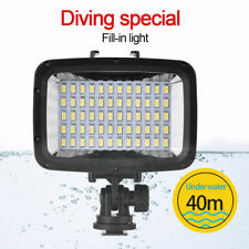 40m/130ft Underwater Waterproof Diving 60-LED Video Light Fill Lamp for Cameras