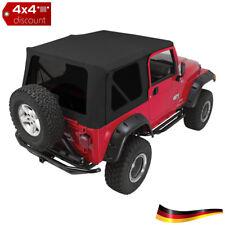 Softtop, Verdeck Ja Schwarzer diamant Jeep Wrangler TJ 1997/2006
