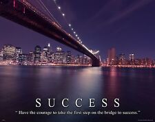 Golden Gate Bridge  Motivational Poster Art Print San Francisco Giants MVP490