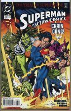 Action Comics 1938 series # 716 near mint comic book
