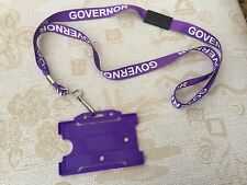 Qualité École Gouverneur Lanyard plus Security ID Card Badge Holder livraison gratuite