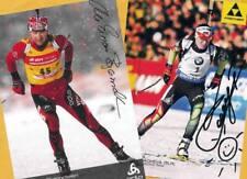 Ole Einar Björndalen-Darya Domracheva (2) - 2 TOP AK-PICTURES + Photo + Ski AK