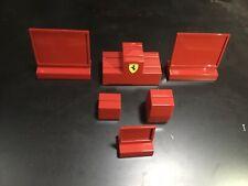Brand New 6Pcs Red Ferrari Watch Display Stand 6 Watch Stands