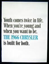 Prospekt brochure 1966 Chrysler 300 * Newport * New Yorker (USA) PRESTIGE