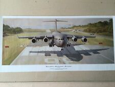 Anything, Anywhere, Anytime by Keith 1st Operational C-17 Assault Landing Print