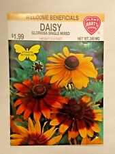Daisy Flower Seeds, Annual, Gloriosa, Attracts Butterflies, Beneficials
