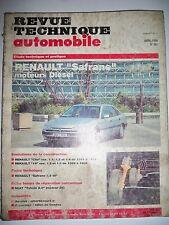 RENAULT Safrane diesel - Revue Technique Automobile (Clio R19)