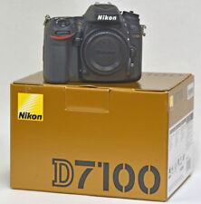 Nikon D7100 24.1 MP SLR Camera body ONLY Low Shutter 3500