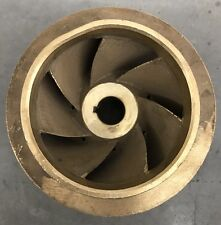 """6"""" BRASS IMPELLER 427115 7/8"""" BORE for ARMSTRONG 4300 S/TC, 4302, 4380 S PUMPS"""