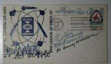 INTERPEX 50 Official AirMail 30 Yrs Rocket Mail 1961 Signed Philatelic Cover