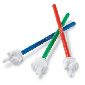 Learning Resources Hand Pointers Set of 3 - Children & Teachers Pointer