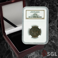 "Admiral Gardner (1808) Shipwreck Treasure - ""X Cash"" Coin -NGC (Medium Grade) Ce"