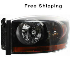 Halogen Head Lamp Assembly Driver Side Fits Dodge Ram 1500 Ram 2500 CH2518115