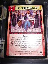 HARRY POTTER TCG CARD DIAGON ALLEY PICKING ON NEVILLE 64/ 80 COM EN MINT NEUF