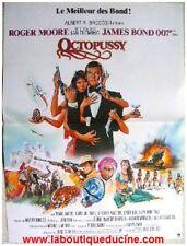 OCTOPUSSY Affiche Cinéma 53x40 Movie Poster JAMES BOND