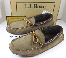 LL bean Moccasin Loafer Driving Shoes , Slippers Sz 11 D With BOX EXCELLENT