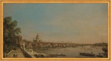 Thames from the Terrace of Somerset House Canal England Kathedrale B A1 02092
